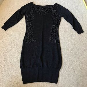 Bebe Sweater Dress Sz XS